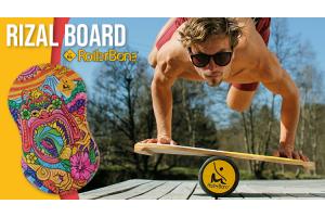 Rollerbone Balanceboard Rizal handstand