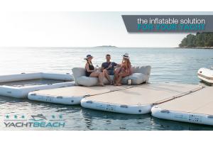 YACHTBEACH Plattformen - Aufblasbare Lösung für Yachten