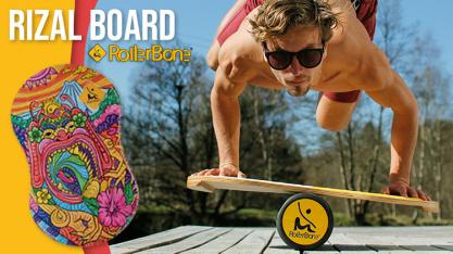 RollerBone Board Rizal Dragon ➤ das stylishe Balance Board