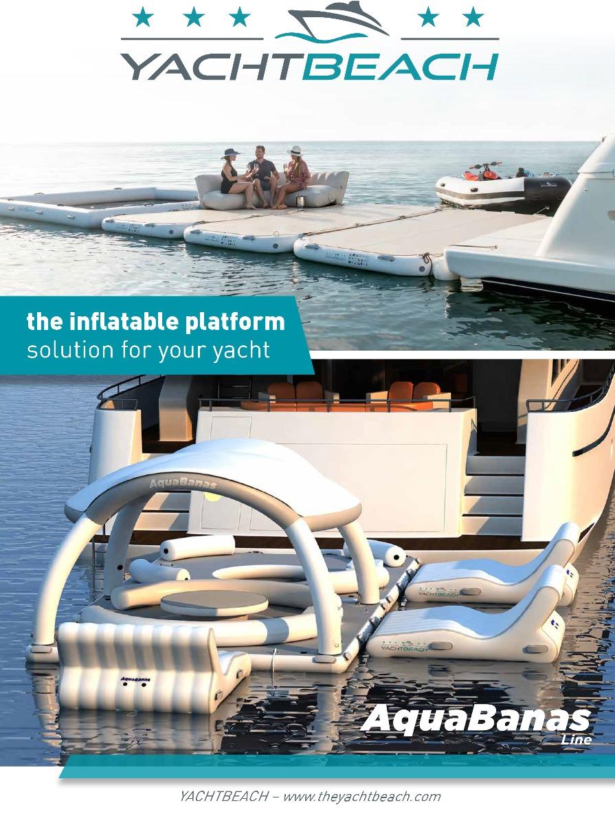 Yachtbeach, AquaBanas Line & JetXtender Catalog 2020