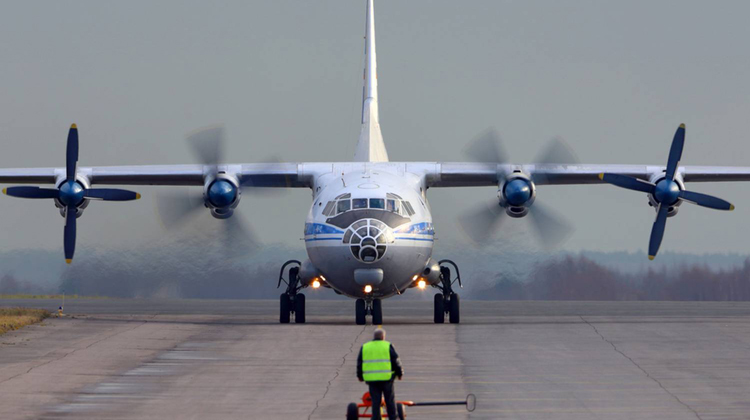 One phone call, one Antonov and 6 days in-between