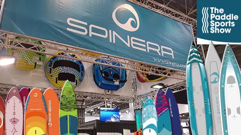 SPINERA auf der Paddle Sport Show in Lyon (Frankreich)