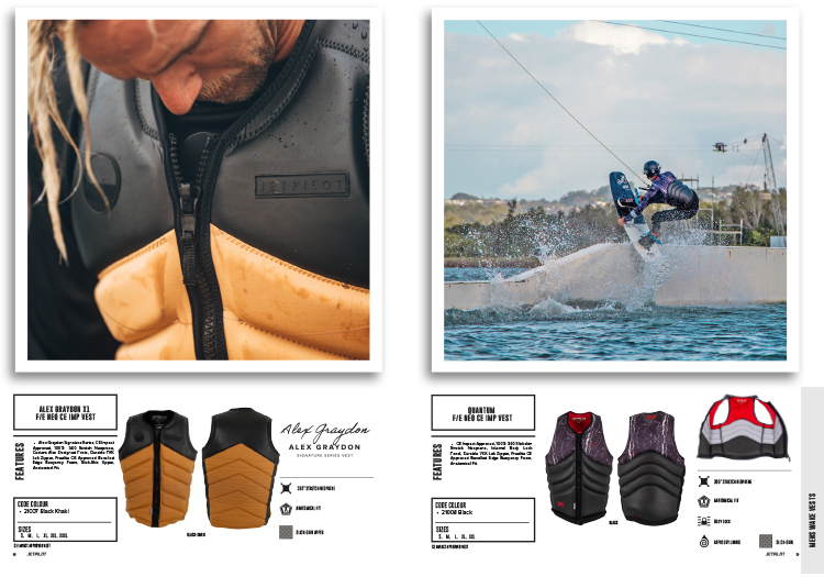 Alex Graydon Jetpilot wakeboards
