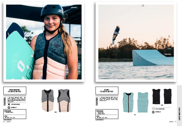 wakeboard ladies vests inverts