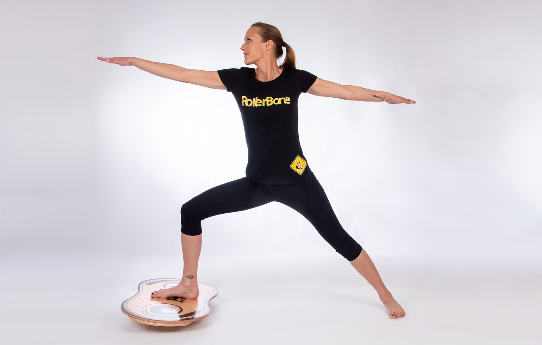 Rollerbone Yoga, Training Balance Board