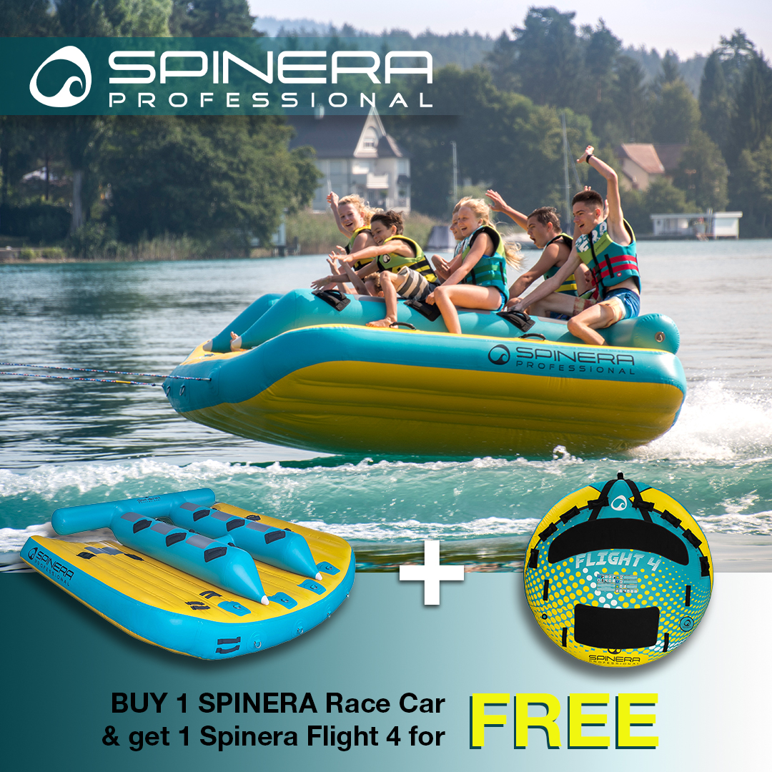 Spinera offer - Race Car + 1 tube for free